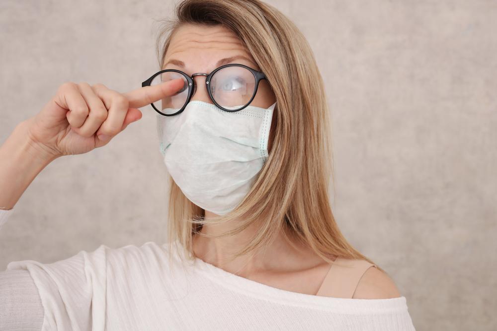 Frustrated of foggy glasses when Wearing Masks & Eyeglasses together?